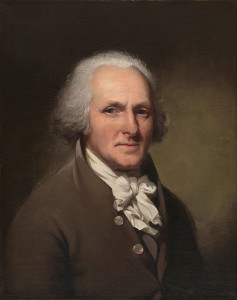 CW Peale, Self-portrait (1791)